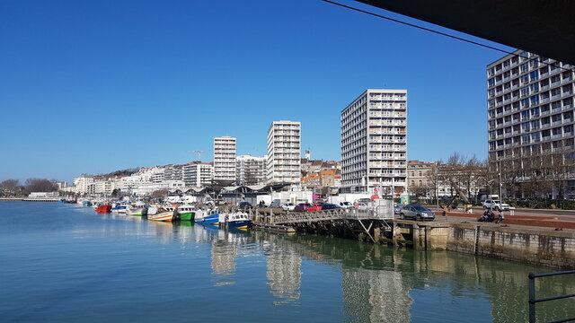 marina - Boulogne sur mer - France