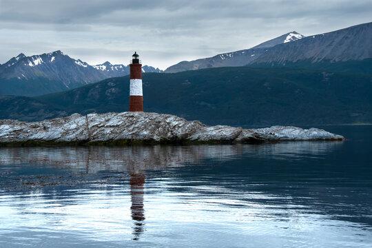 Les Eclaireus Lighthouse in Argentina