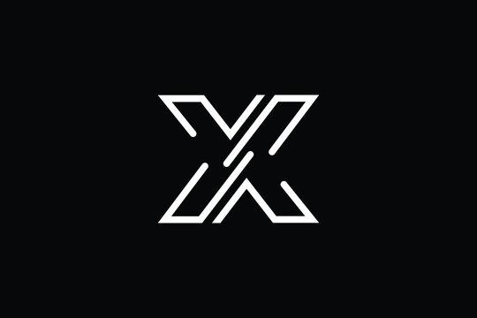 X logo letter design on luxury background. XX logo monogram initials letter concept. X icon logo design. XX elegant and Professional letter icon design on black background. X XX