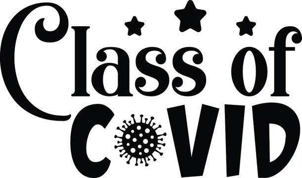 Class of Covid, Graduation Vector File