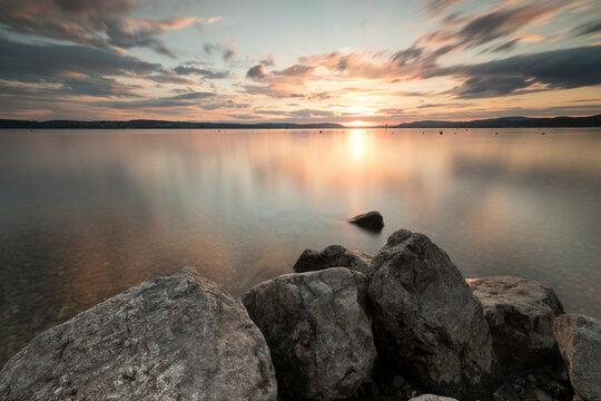 Abendstimmung Uhldingen Bodensee