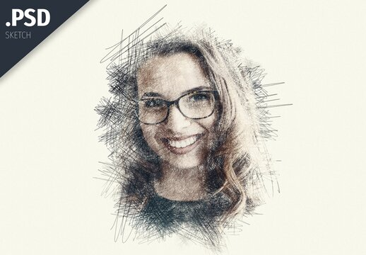 Pencil Sketch Portait Effect