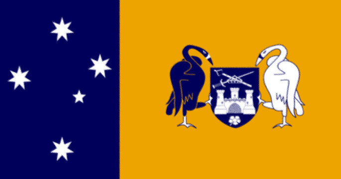 The current flag of the Australian Capital Territory was officially adopted by the Australian Capital Territory Legislative Assembly in 1993.