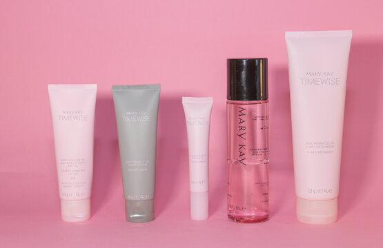 Latia 12.2020: Mary Kay cosmetics set, Miracle set for face care.