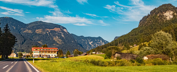 Beautiful alpine summer view near Abtenau, Salzburg, Austria