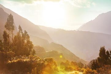 Rural landscapes in Peru