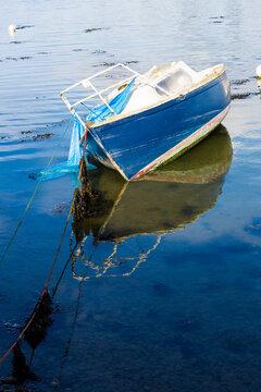 Basques de pêche à Conleau