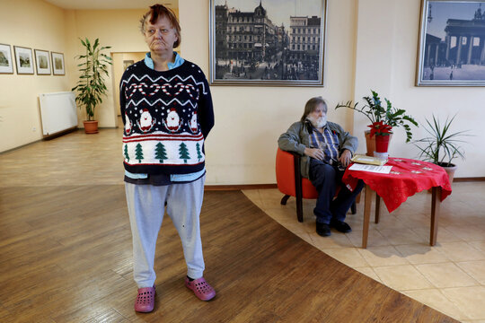 Berlin nursing home residents speak about their experience dealing with coronavirus lockdown, death and vaccination