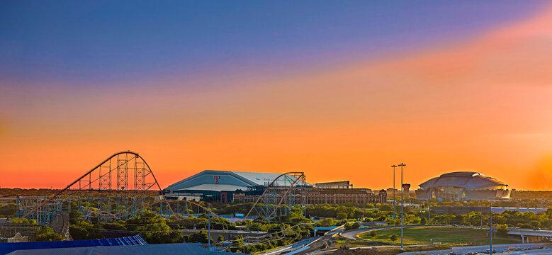 Arlington Texas Skyline