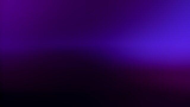 Neon blue light leaks effect background. Real shot in 4k.