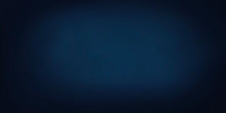 Sfondo banner blu scuro elegante business schiarito al centro.