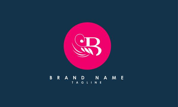 Alphabet letters Initials Monogram logo SB, BS, S and B