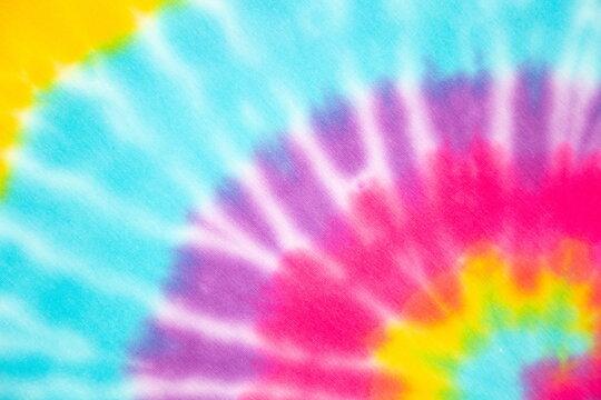 rainbow pastel tie dyed swirl seamless pattern.