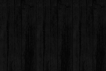 Wood plank black timber texture and seamless background