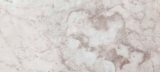 Obraz Panorama of Light brown marble wall tile with pattern texture and seamless background - fototapety do salonu