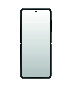 Smartphones. Front view illustration mockup for your portfolio