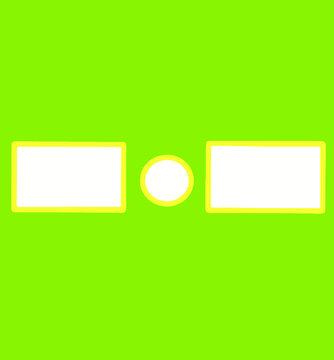 YouTube Green Screen Outro (Yellow)