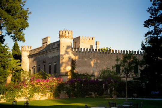 medieval castle in southern italy
