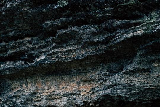 rochas na paisagem