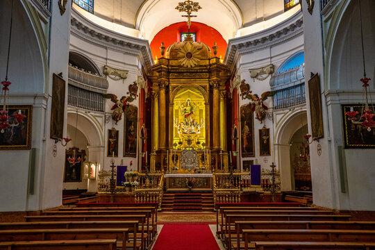 The church Juramento de San Rafael in Cordoba, Andalusia, Spain