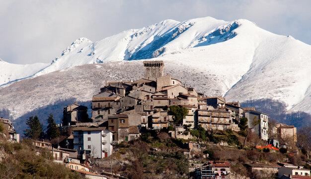 Town of Trevi nel lazio (Italy)
