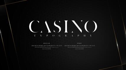 Fototapeta Elegant typography with shiny effect