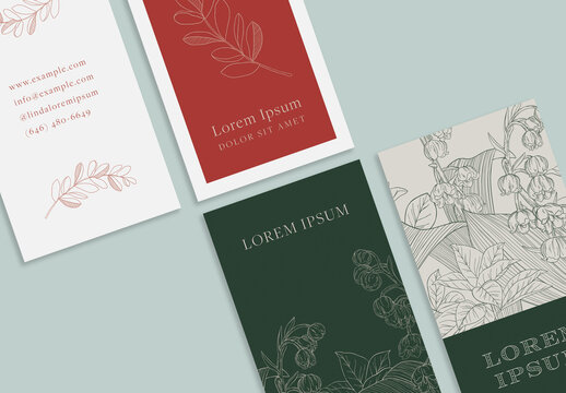 Refined and Elegant  Business Cards