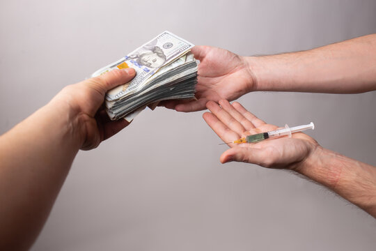 CHANGE MONEY FOR A VACCINE