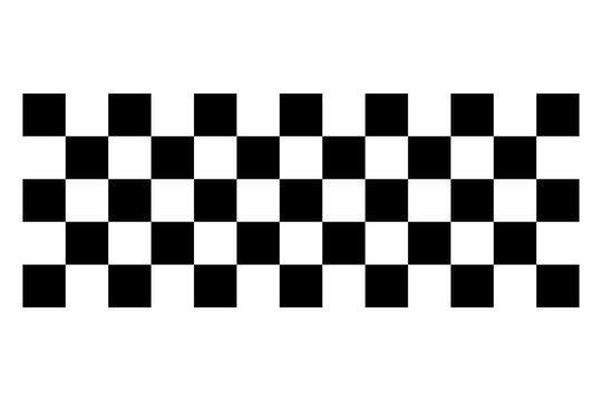 Racing flag. Race flag vector icon. Finishing flag. Vector design illustration