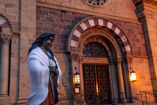 Cathedral Basilica of St Francis of Assisi;  Santa Fe, New Mexico