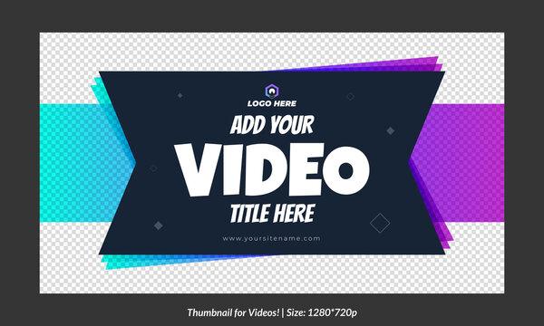 Editable  video thumbnail design customizable video thumbnail designs Fully editable thumbnail for social me concept video cover pic template fully editable. Fully editable thumbnail for social media