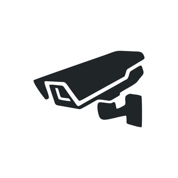 cctv camera icon isolated on white background. Trendy cctv camera icons and modern cctv camera symbols for logos, web, apps, UI. simple cctv camera sign icon.