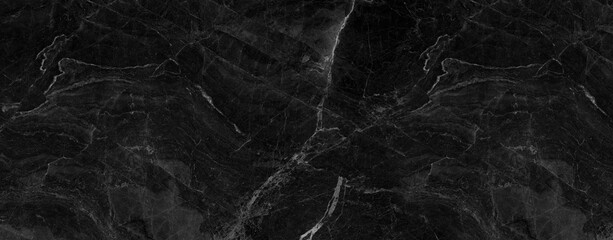 black marble background. black Portoro marble wallpaper and counter tops. black marble floor and...