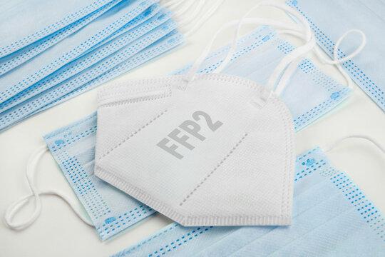 FFP2 Maske und medizinische Masken