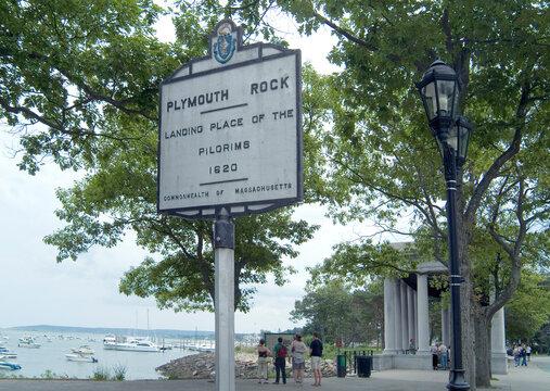 Massachusetts, Plymouth Rock