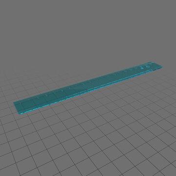 Plastic ruler 1