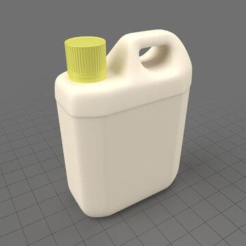 Plastic can 1