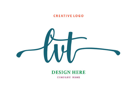 LVT lettering logo is simple, easy to understand and authoritative