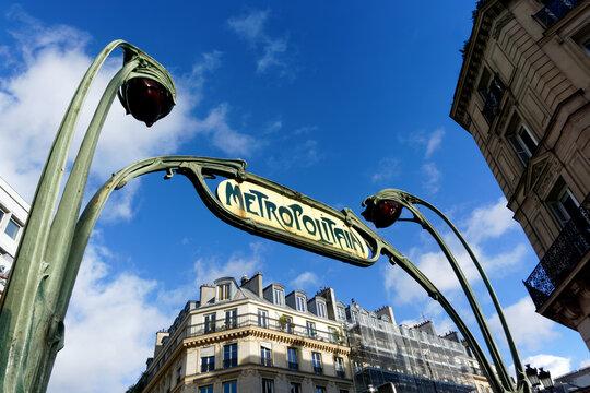 Art Nouveau Metro Stations in Paris