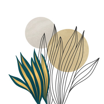 garden, monstera, tropical palm, forest leaves, exotic, foliage, flora, flower, natural, leaf, plant, golden, luxury, gold, template, leaves, floral, earth tones, postcard, cover, modern, watercolors,