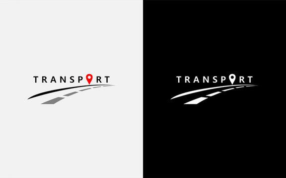 Modern transport vector symbol logo design illustration. Usable For Business, Community, Foundation, Tech, Services Company. Vector Logo Design Illustration.