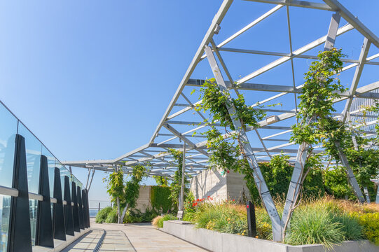 The Garden at 120, a roof garden on the Fen Court building in London