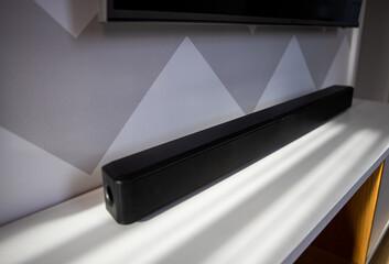 Obraz soundbar - fototapety do salonu