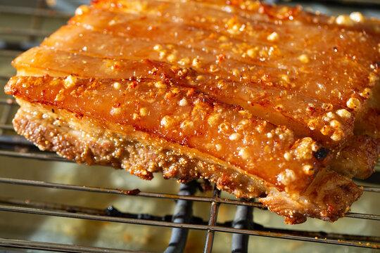 Roast Pork Belly barbeque