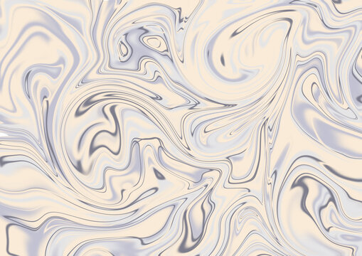 Beautiful abstract background of set sail champagne and blue color. Fluid art background.
