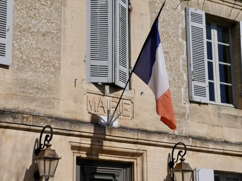 old town hall (mairie) in Bourg du Gironde, France