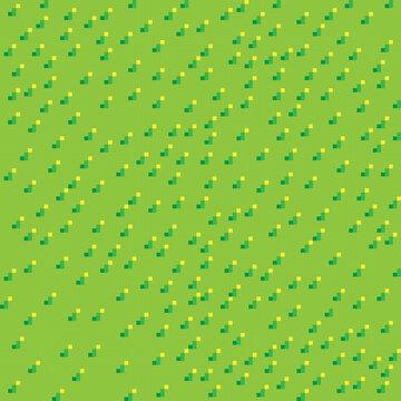 Grass pixel art background. Grass texture. Pixel art vector.