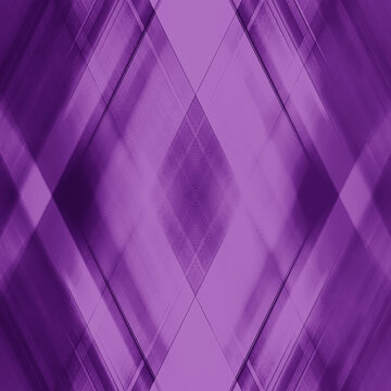 Wicker triangular strokes of intersecting sharp lines with amethyst triangles and stripes.