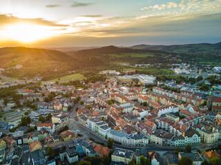 Jelenia Góra, centrum miasta, stare miasto