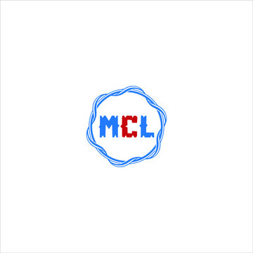 MCL LOGO MCL ICON MCL VECTOR MCL LETTER MCL MINIMALIST MCL FLAT MCL MONOGRAM Unique abstract geometric logo design